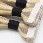 extensiones adhesivas de pelo natural de la mejor calidad largas chantal hair colocar extensiones adheivas oferta solo pelo natural madrid