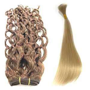 Extensiones en cortinas y cabello suelto