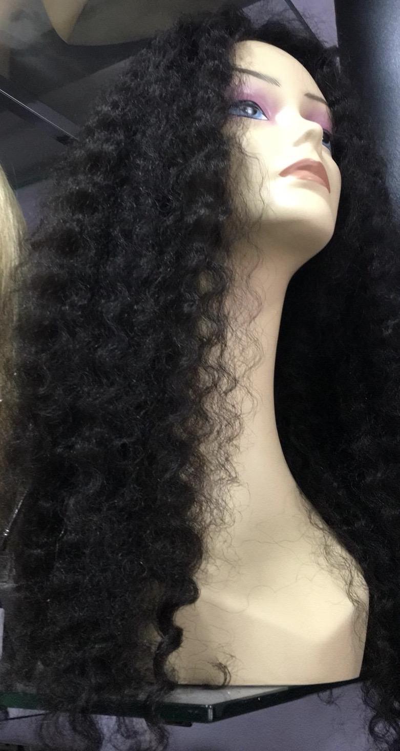 peluca de pelo natural de maxima calidad chantal hair solopelonatural