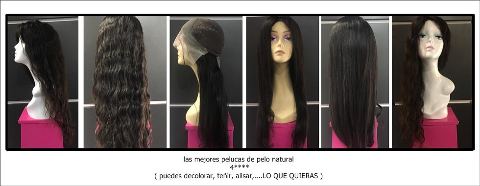 las mejores pelucas de pelo natural españa